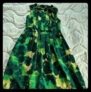 Green Merona dress!
